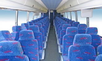 50 person charter bus rental