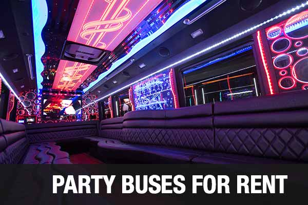 wedding transportation party bus reno
