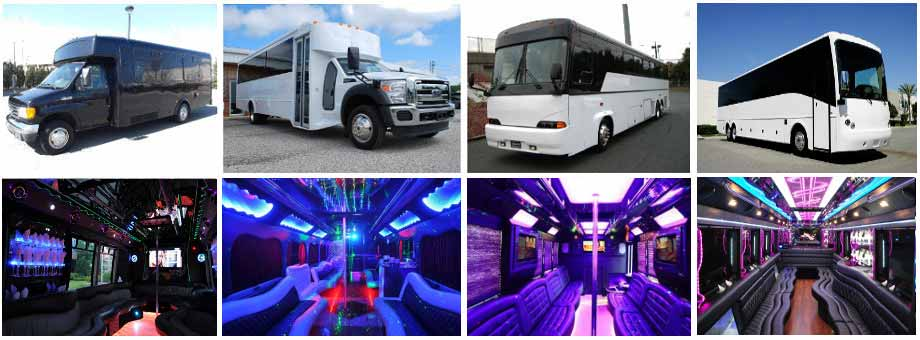wedding transportation party buses reno